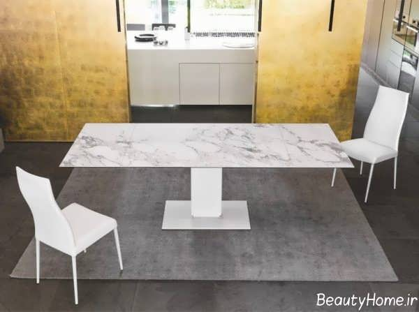 میز ناهار خوری مدرن و زیبا