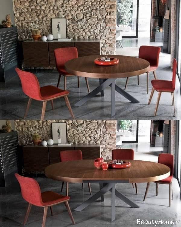 مدل میز غذاخوری زیبا و مدرن