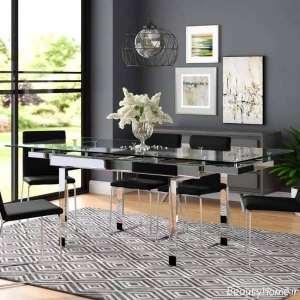 میز نهار خوری مدرن و زیبا