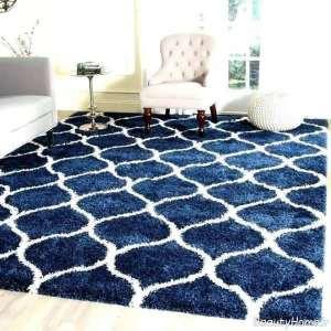مدل فرش سرمه ای مدرن