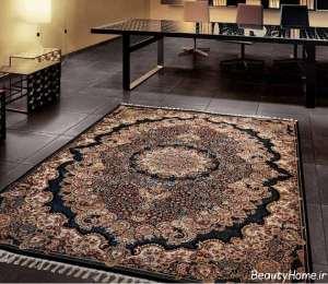 مدل فرش رنگی