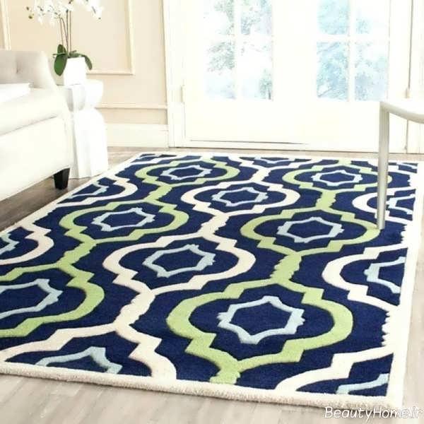 مدل فرش طرح دار و شیک