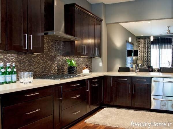 طراحی آشپزخانه نسکافه ای