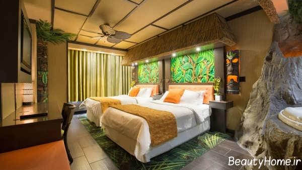 اتاق خواب زیبا و مدرن