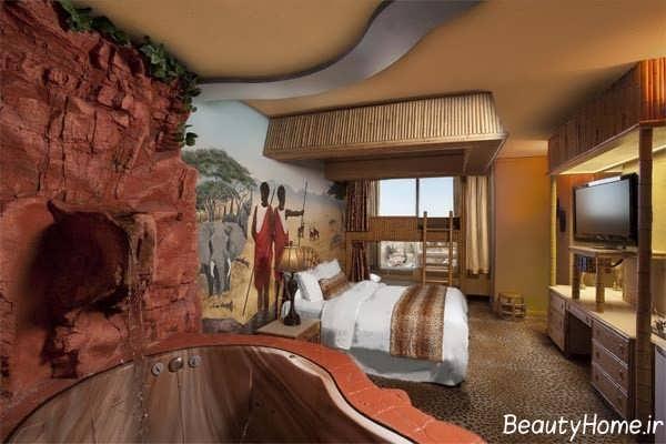 اتاق خواب کلاسیک و شیک