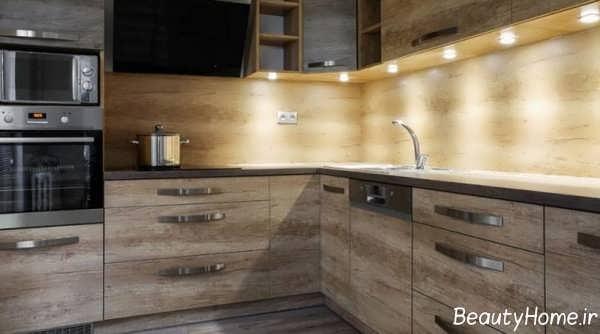 اصول نورپردازی آشپزخانه