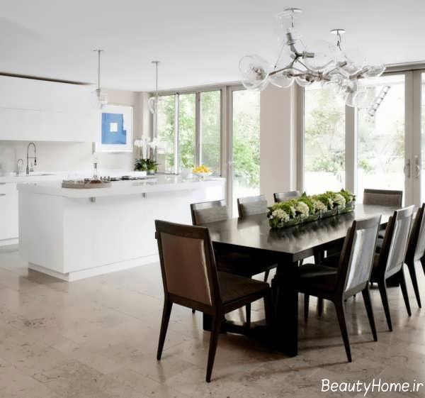 نورپردازی فضای آشپزخانه