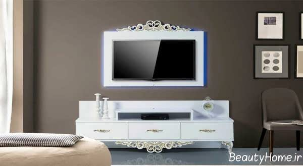 میز LCD سفید