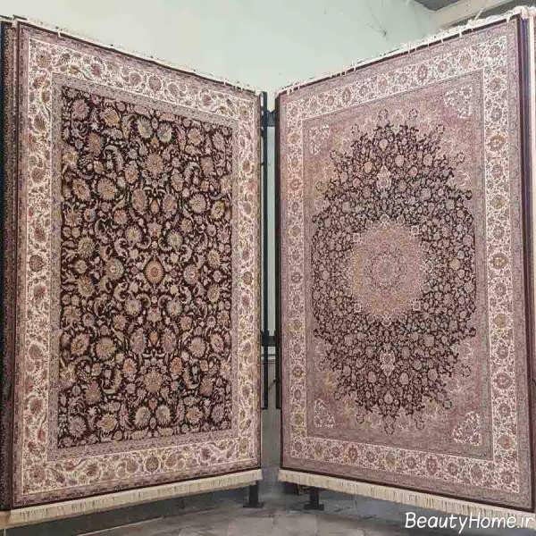 قالی طرح دار و زیبا