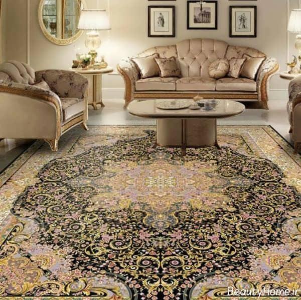 طرح قالی جدید و شیک