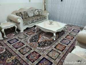 طرح قالی زیبا و شیک