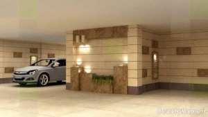 دیزاین داخلی پارکینگ