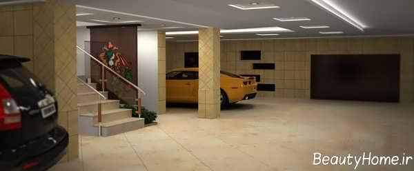 طراحی نورپردازی برای پارکینگ