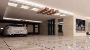 دیزاین زیبا و شیک پارکینگ