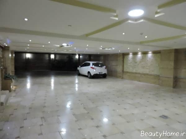 دیزاین پارکینگ بزرگ