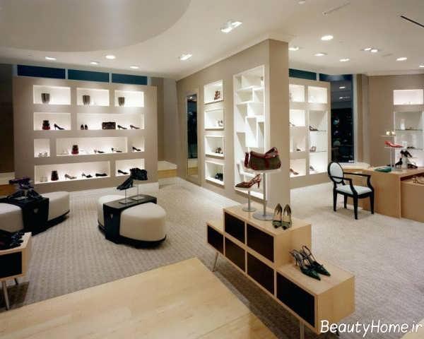 طراحی داخلی مغازه کوچک