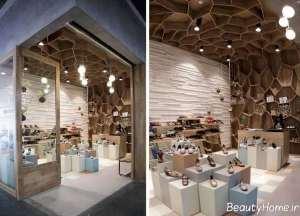ایده هایی برای طراحی دکوراسیون مغازه کوچک