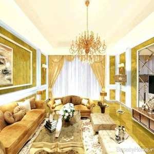 طراحی پذیرایی طلایی