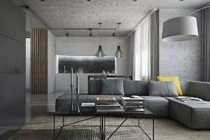 رنگ خاکستری در دکوراسیون داخلی
