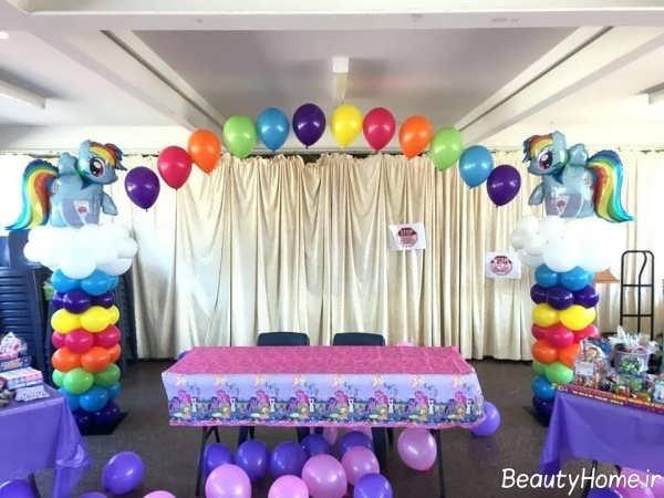 تزیین منزل با کمک ایده های خلاقانه برای تولد