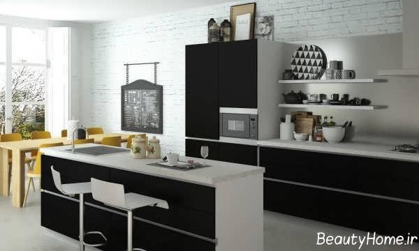 کابینت جدید آشپزخانه