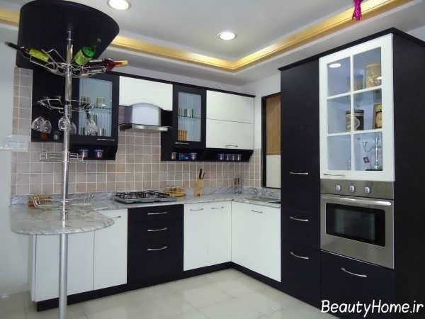 طراحی نورپردازی برای کابینت آشپزخانه
