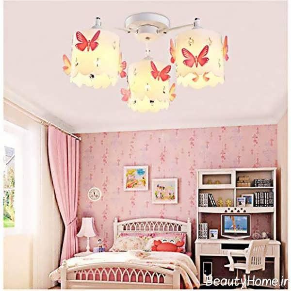 لوستر اتاق کودک با طراحی زیبا