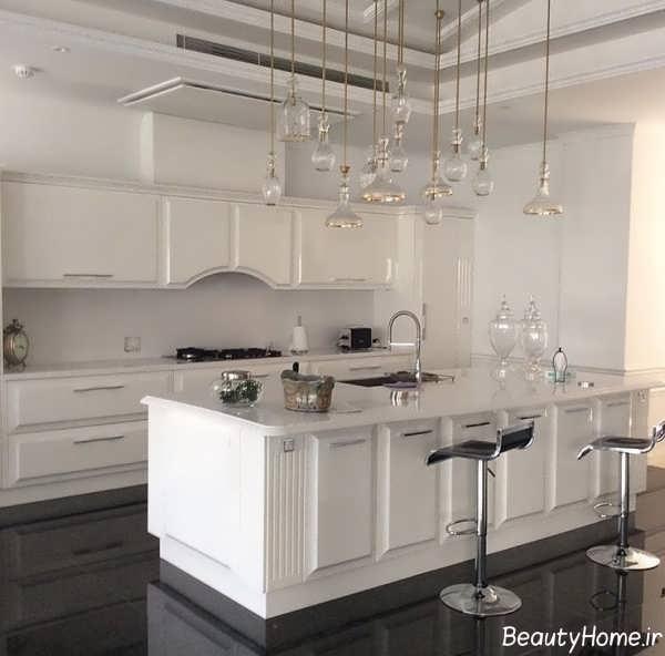 طرح کابینت آشپزخانه انزو