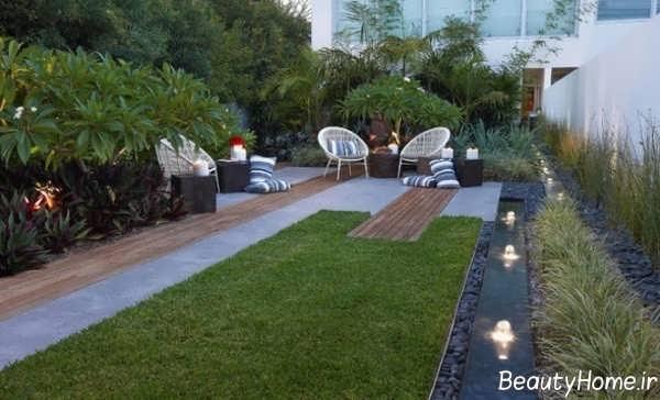 طراحی راهرو برای باغ
