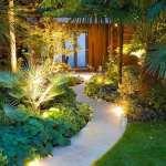 طراحی راهرو باغ