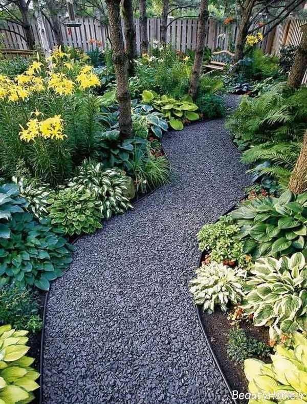 راهروی زیبا برای باغ