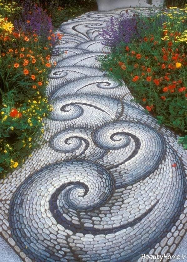 ایده هایی برای دیزاین راهروی باغ