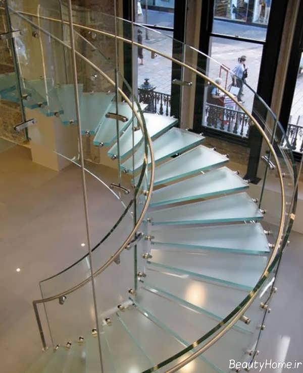 مدل راه پله مارپیج