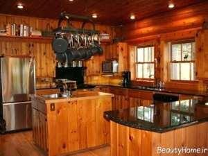طراحی زیبا و شیک آشپزخانه