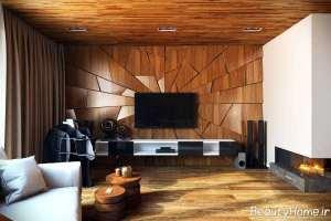 دیزاین داخلی با چوب