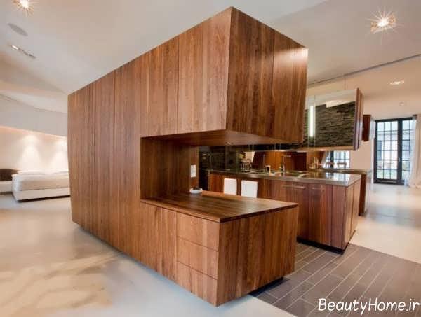 طراحی داخلی با چوب با 40 ایده خلاقانه