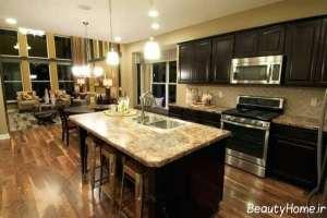 کابینت زیبا و شیک آشپزخانه