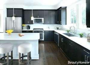 کابینت زیبا و شیک برای آشپزخانه