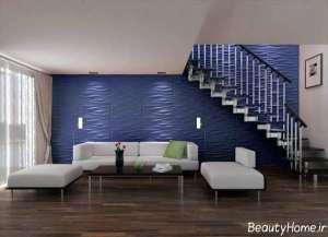 کاغذ دیواری برای اتاق پذیرایی