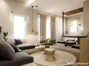 دیزاین داخلی خانه ویلایی شیک