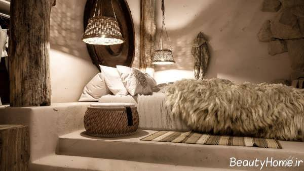 دکوراسیون اتاق خواب زیبا و لوکس