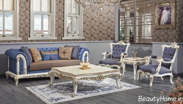 مبلمان زیبا و کلاسیک