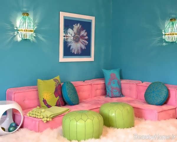 مدل مبل اتاق کودک شیک و زیبا