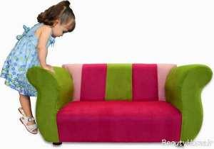 مبلمان رنگی برای اتاق کودک
