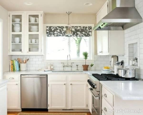 دکوراسیون آشپزخانه زیبا و شیک