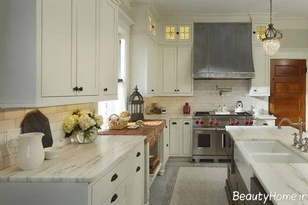 طراحی دکوراسیون آشپزخانه رومی