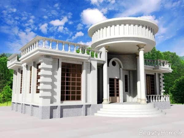 نمای زیبا و جذاب ساختمان