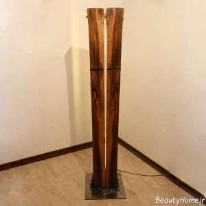 آباژور چوبی فانتزی