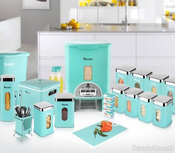سرویس آشپزخانه رنگ روشن