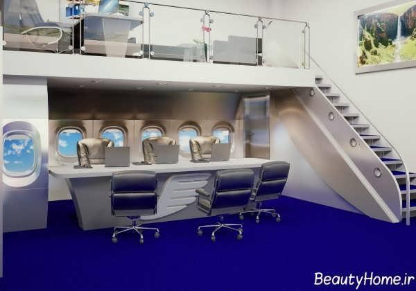 طراحی داخلی آژانس هواپیمایی